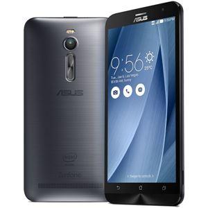 ASUS TeK ZenFone 2 32GB (Atom Z3560/2GBメモリ/LTE対応) グレー ZE551ML-GY32 - 拡大画像