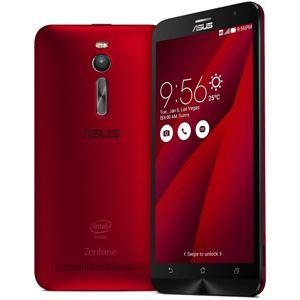 ASUS TeK ZenFone 2 32GB (Atom Z3560/2GBメモリ/LTE対応) レッド ZE551ML-RD32 - 拡大画像
