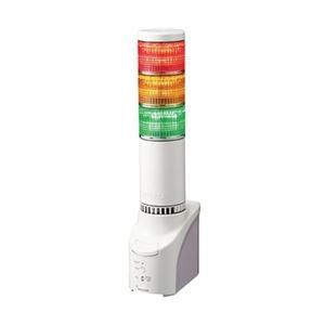 パトライト ネットワーク監視表示灯 直径60mm/3段/赤黄緑 NHL-3FB1-RYG - 拡大画像