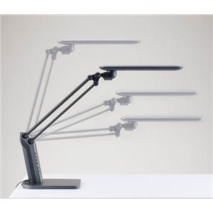 ツインバード工業 照度&人感センサー付LEDデスクライト (ブラック) LE-H819B