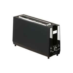 ツインバード工業 ポップアップトースター (ブラック) TS-D424B