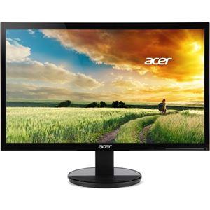 Acer21.5型ワイド液晶ディスプレイ(非光沢/1920x1080/200cd/100000000:1/5ms/ブラック/ミニD-Sub15ピン・DVI-D24ピン・HDMI/フリッカーフリー/BLフィルター)K222HQLbmidx