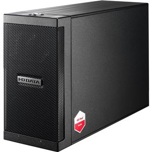 アイ・オー・データ機器 長期保証&保守サポート対応 カートリッジ式2ドライブ外付ハードディスク 6TB