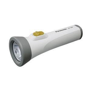 パナソニック(家電) エボルタ付きLEDライト(単1電池2個用)(ホワイト) BF-158BK-W - 拡大画像