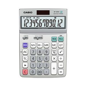 カシオ計算機デスク型電卓12桁グリーン購入法適合商品DF-120GT-N