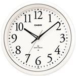 カシオ計算機 電波掛け時計 プラ枠 IQ-1050NJ-7JF