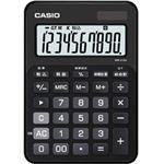 カシオ計算機 カラフル電卓 10桁 スマートブラック MW-C12A-BK-N