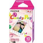 富士フイルム チェキ用カラーフィルム instax mini キャンディポップ 1パック品(10枚入) INSTAX MINI CANDYPOP WW 1
