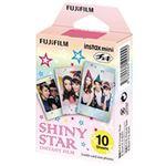 富士フイルム チェキ用カラーフィルム instax mini 1パック品 シャイニースター(10枚入) INSTAX MINI STAR WW1