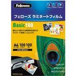 フェローズ ラミネートフィルム 5351103 A4サイズ用 100ミクロン 100枚入り LF-BSC-A4-100