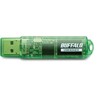 バッファロー USB3.0対応 USBメモリー スタンダードモデル 16GB グリーン RUF3-C16GA-GR h03
