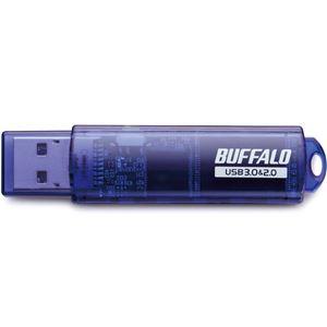バッファロー USB3.0対応 USBメモリー スタンダードモデル 64GB ブルー RUF3-C64GA-BL画像3