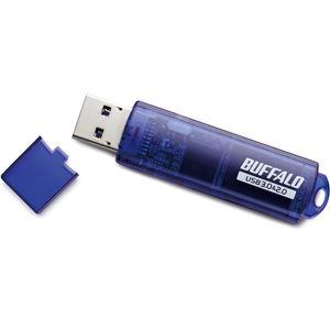 バッファロー USB3.0対応 USBメモリー スタンダードモデル 64GB ブルー RUF3-C64GA-BL画像5