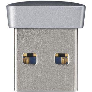 バッファロー USB3.0対応 マイクロUSBメモリー 8GB シルバー RUF3-PS8G-SV画像2