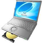 パナソニック Let's note SZ5DIS専用モデル(Corei5-6200U/4GB/HDD320GB/SMD/W7P32DG/12.1WUXGA/電池S/OFH&B) CF-SZ5HMDKS