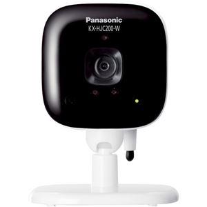 パナソニック(家電) ホームネットワークシステム 屋内カメラ (ホワイト) KX-HJC200-W - 拡大画像