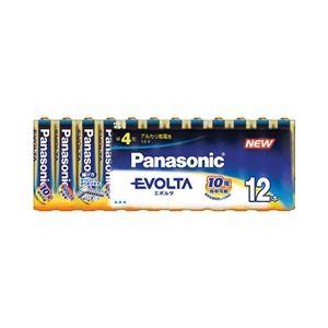 パナソニック(家電) エボルタ乾電池 単4形 12本パック LR03EJ/12SW - 拡大画像