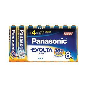 パナソニック(家電) エボルタ乾電池 単4形 8本パック LR03EJ/8SW - 拡大画像