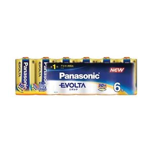 パナソニック(家電) エボルタ乾電池 単1形 6本パック LR20EJ/6SW - 拡大画像