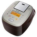 パナソニック(家電) 可変圧力IHジャー炊飯器(ブラウン) SR-PA106-T