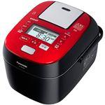 パナソニック(家電) スチーム&可変圧力IHジャー炊飯器 1.0L (ルージュブラック) SR-SPX106-RK