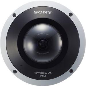 SONY ネットワークカメラ ドーム型 360度全方位5メガピクセルCMOSイメージセンサー SNC-HM662