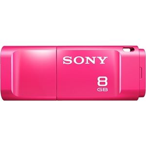 SONY USB3.0対応 スマートキャップ付きUSBメモリー 8GB ピンク USM8X P