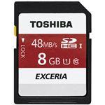 東芝(家電) EXCERIA SDHCメモリカード 8GB SD-FU008G