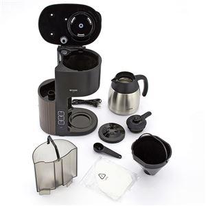 タイガー魔法瓶 コーヒーメーカー 真空ステンレスサーバータイプ カフェブラック ACE-S080KQ