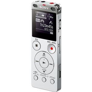 SONYステレオICレコーダーFMチューナー付8GBシルバーICD-UX565F/S