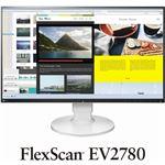 EIZO 68.5cm(27.0)型カラー液晶モニター FlexScan EV2780 ホワイト EV2780-WT