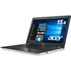 Acer Aspire E 15 E5-575-N78G/W (Corei7-7500U/8GB/1000GB/DVDドライブ/15.6/Windows 10Home(64bit)/APなし/マーブルホワイト) E5-575-N78G/W - 拡大画像