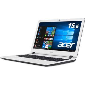 Acer Aspire ES 15 ES1-533-N14D/W (CeleronN3350/4GB/500GB/DVDドライブ/15.6/Windows 10Home(64bit)/APなし/コットンホワイト) ES1-533-N14D/W - 拡大画像