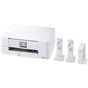 ブラザー工業 A4インクジェット複合機/FAX/10/12ipm/デジタル子機2台/無線LAN MFC-J837DWN