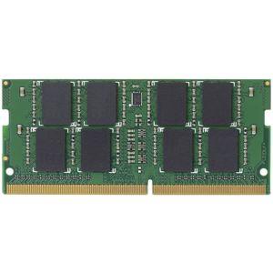 エレコムEURoHS指令準拠メモリモジュール/DDR4-SDRAM/DDR4-2400/260pinS.O.DIMM/PC4-19200/8GB/ノート用EW2400-N8G/RO