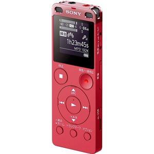 SONY ステレオICレコーダー FMチューナー付 4GB ピンク ICD-UX560F/P