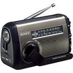 SONY FM/AMポータブルラジオ シルバー ICF-B99/S