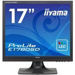 iiyama 17型液晶ディスプレイ ProLite E1780SD マーベルブラック E1780SD-B1