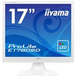 iiyama 17型液晶ディスプレイ ProLite E1780SD ピュアホワイト E1780SD-W1