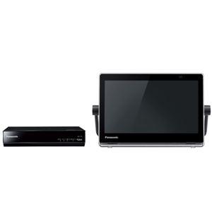 パナソニック HDDレコーダー付ポータブル地上・BS・110度CSデジタルテレビ 10V型 (ブラック) UN-10T7-K