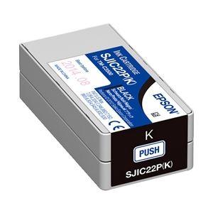 エプソン TM-C3500用インクカートリッジ ブラック SJIC22PK
