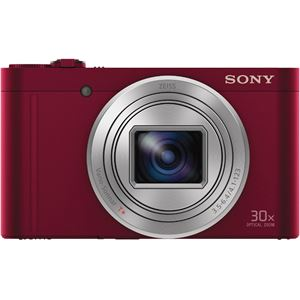 SONY デジタルスチルカメラ Cyber-shot WX500 (1820万画素CMOS/光学x30)レッド DSC-WX500/R