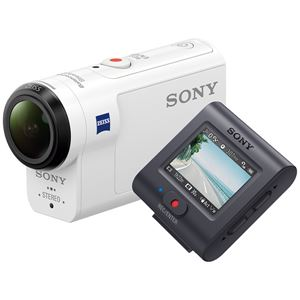 SONY デジタル4Kビデオカメラレコーダー アクションカム ライブビューリモコン付 FDR-X3000R