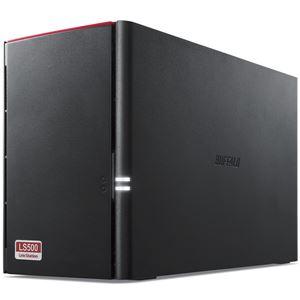 バッファロー LinkStation for SOHO LS520DNBシリーズ NAS用HDD搭載2ドライブNAS 3年保証 8TB LS520DN0802B