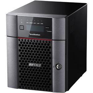 バッファロー TeraStation TS5410DNシリーズ 10GbE標準搭載 法人向け 4ドライブNAS8TB TS5410DN0804