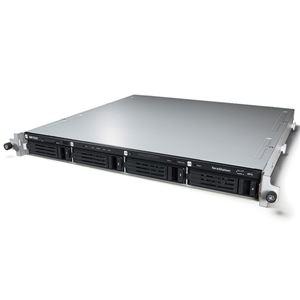 バッファロー Windows Storage Server 2016 Workgroup Edition搭載4ベイ NAS ラックマウント 8TB WS5400RN08W6