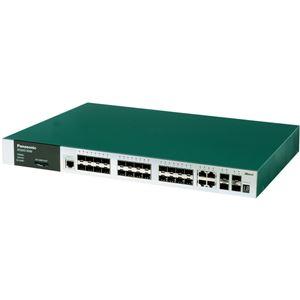 パナソニックESネットワークス 光24ポートL3スイッチングハブ ZEQUO 6500 PN36242E
