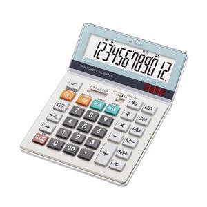 シャープ 電卓(セミデスクタイプ) EL-S752K-X