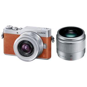 パナソニック デジタル一眼カメラ LUMIX GF9 ダブルレンズキット (オレンジ) DC-GF9W-D - 拡大画像