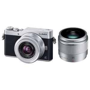 パナソニック デジタル一眼カメラ LUMIX GF9 ダブルレンズキット (シルバー) DC-GF9W-S - 拡大画像